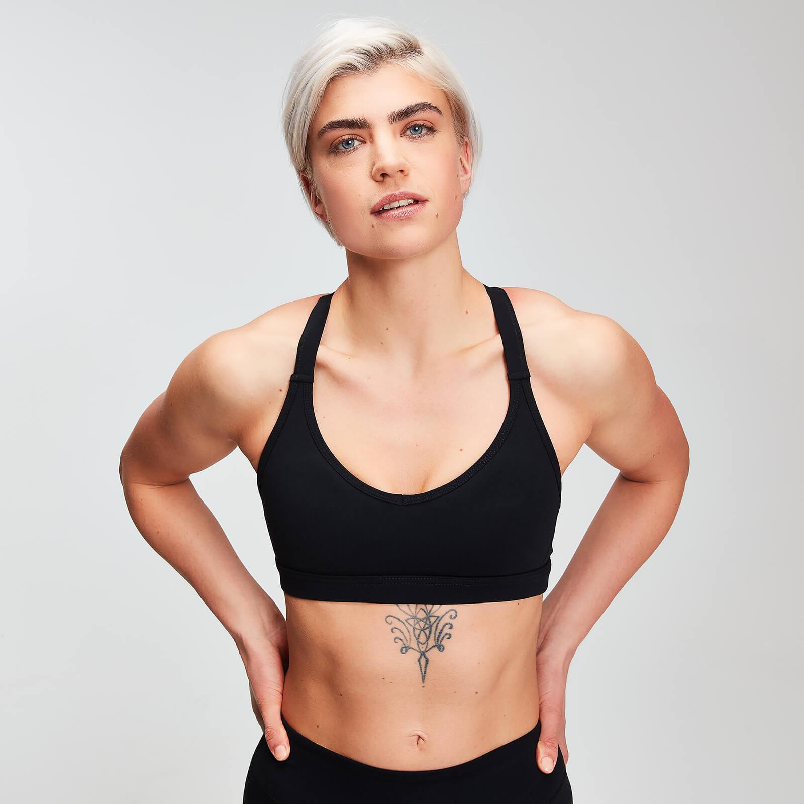 Mp Power Mesh Sports Bra - Til Kvinder - Sort - Xxs