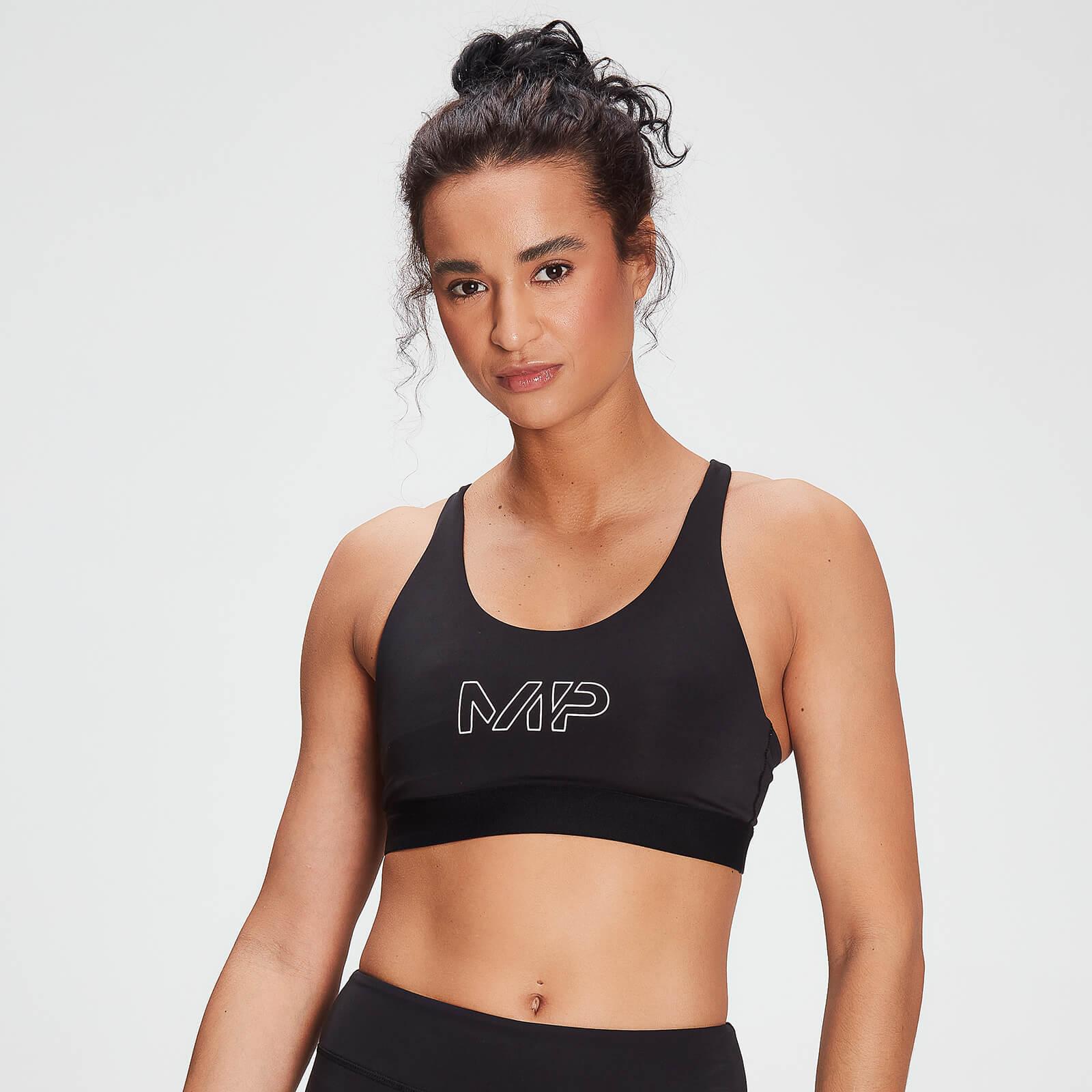 Mp Branded Training Sports Bra Til Kvinder – Sort - Xs