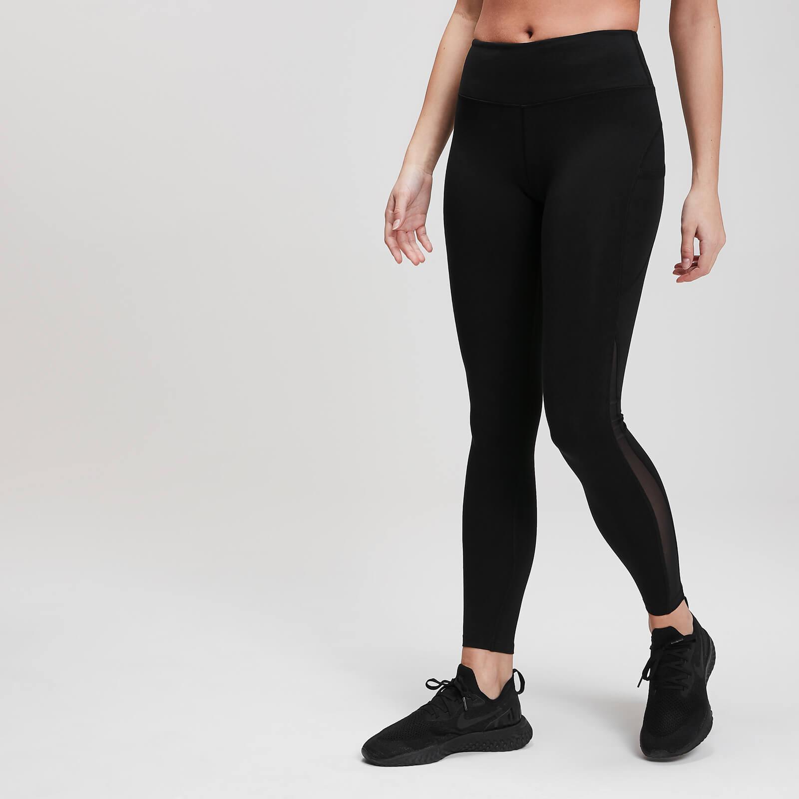 Myprotein MP Power Mesh Leggings - Til kvinder - Sort - XXL