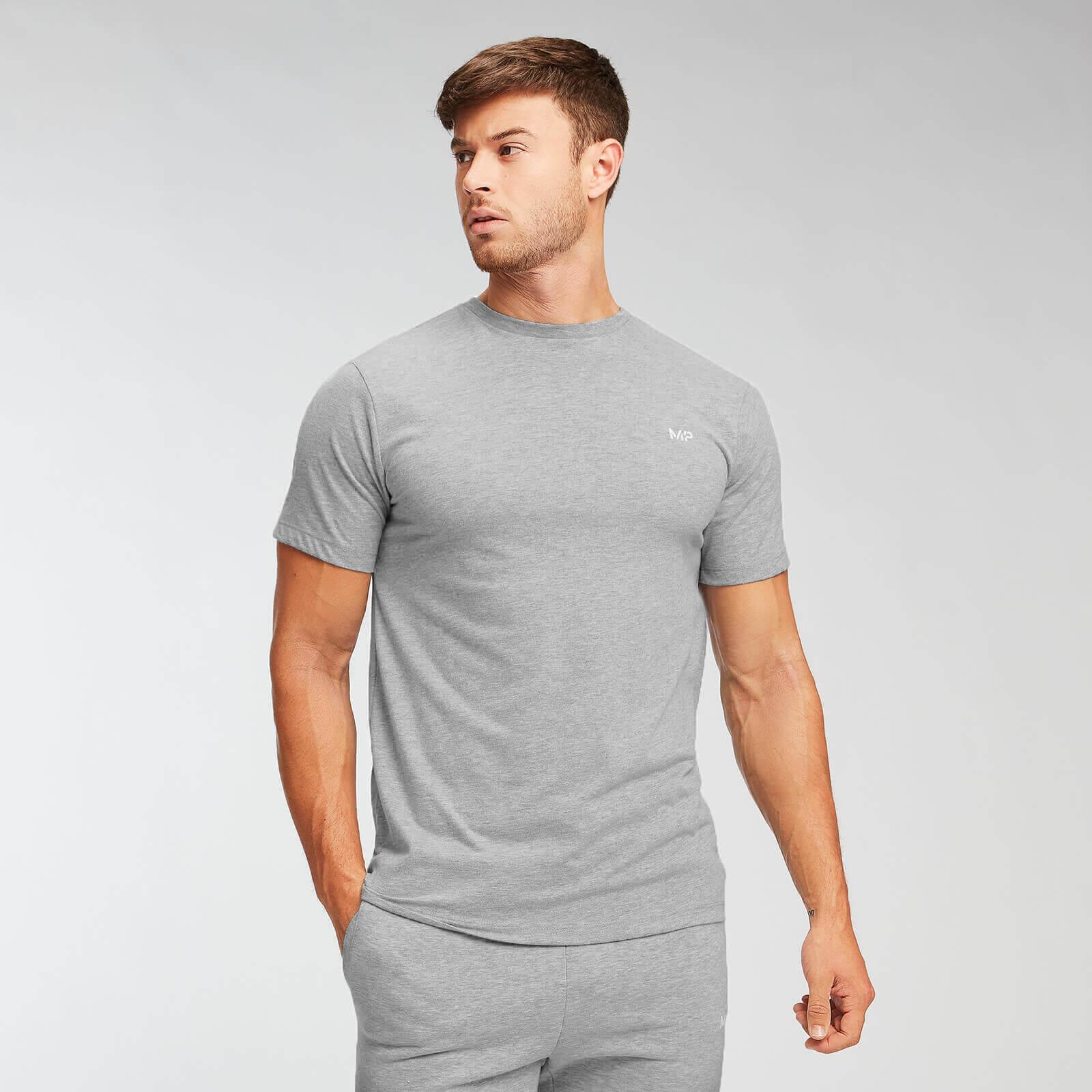 Mp Essentials T-Shirt - Til Mænd - Grey Marl - L