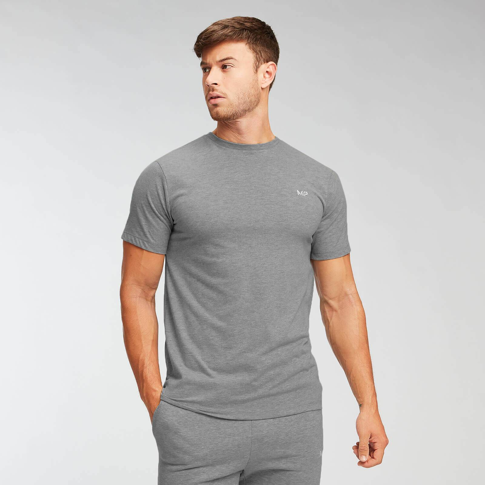 Myprotein MP Essentials T-shirt - Til mænd - Grey Marl - XXL