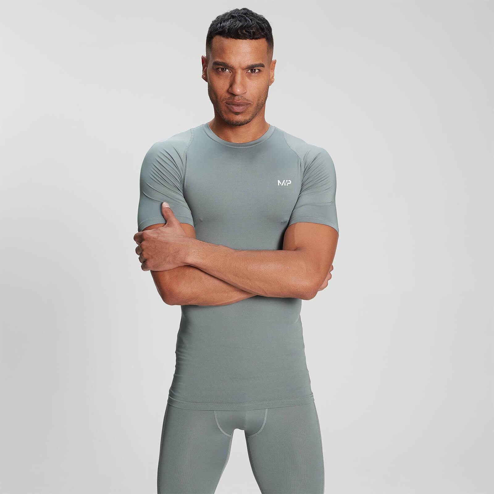 Mp Base Layer Kortærmet T-Shirt Til Mænd – Storm - Xxxl