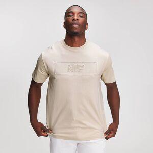 MP Myprotein Graphic Embossed T-Shirt til Mænd - Dune - M