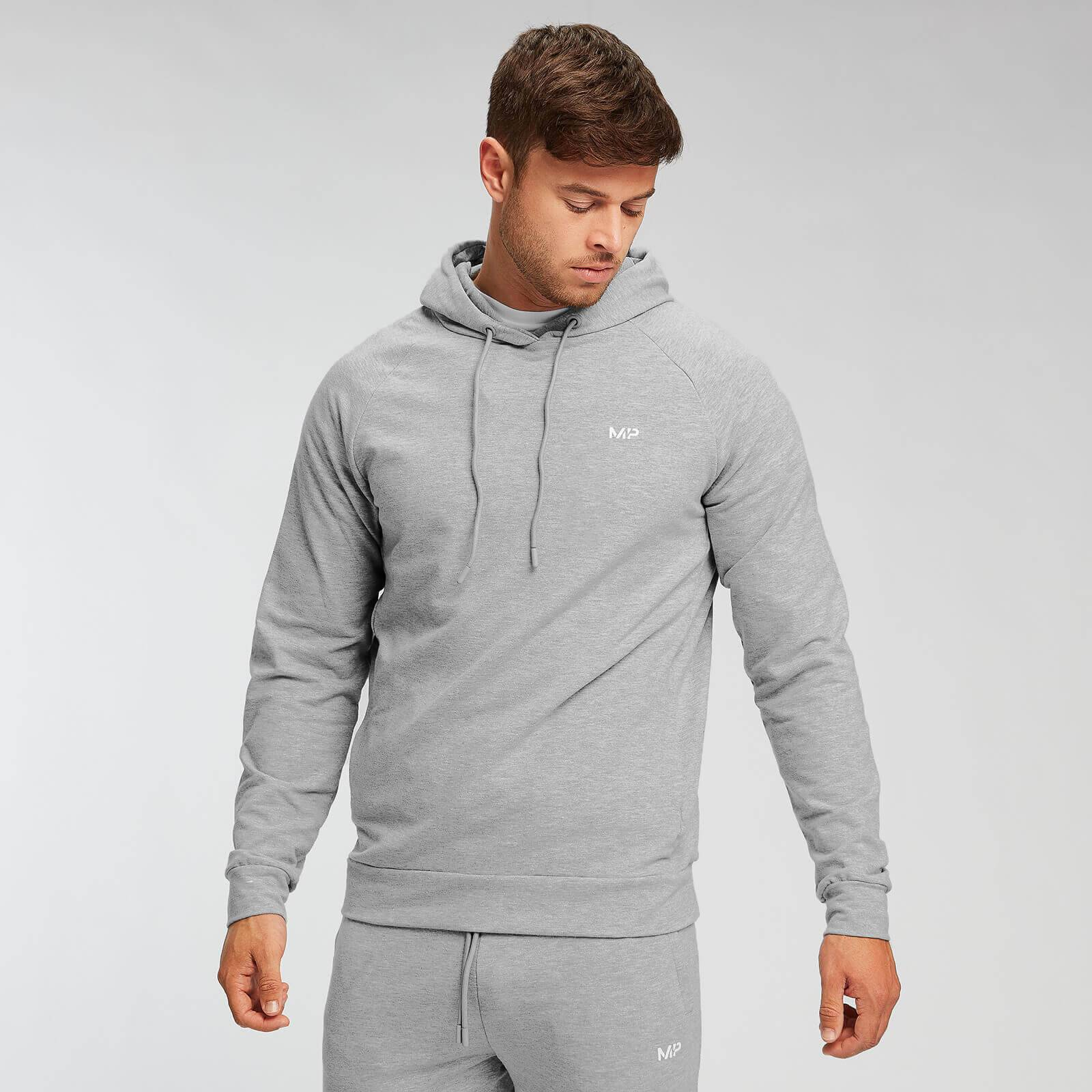 Mp Form Pullover Hoodie - Til Mænd - Grey Marl - S