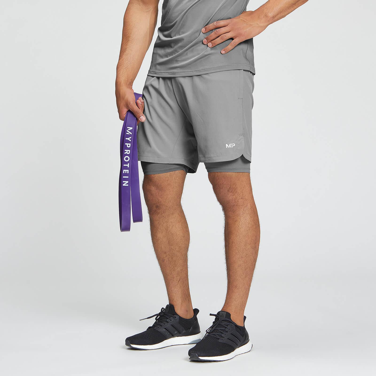 Mp Essentials 2 In 1 Training Shorts Til Mænd - Storm - Xl