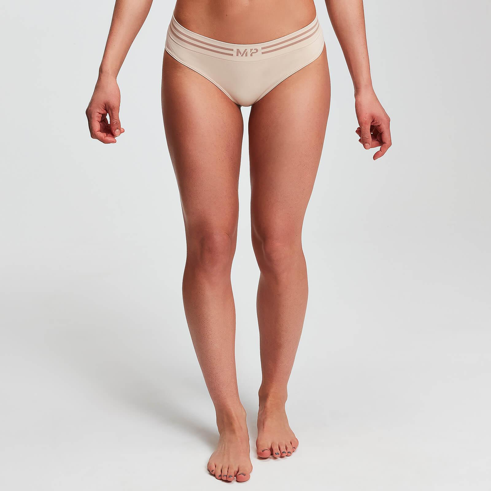 MP Essentials Seamless Thong - Til kvinder - Beige - XL