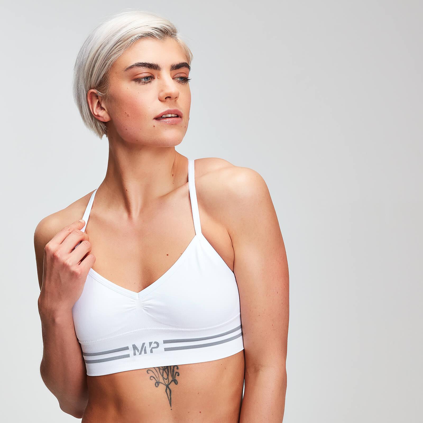 MP Essentials Seamless Bralette - Til kvinder - Hvid - XXS