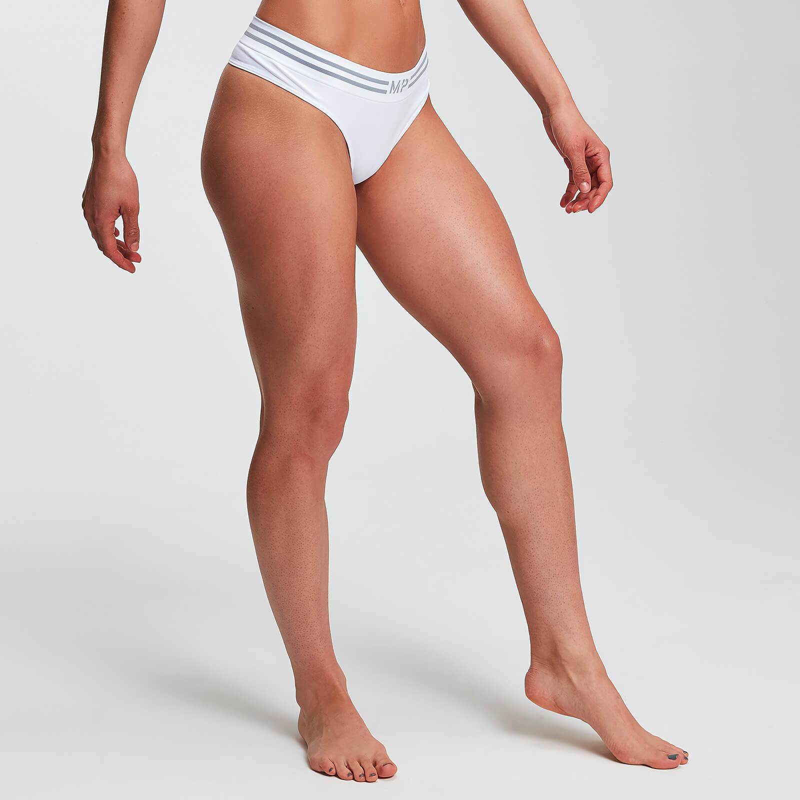 MP Essentials Seamless Thong - Til kvinder - Hvid - XXS