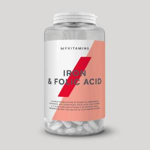 Myvitamins Iron & Folic Acid - 90tabletter