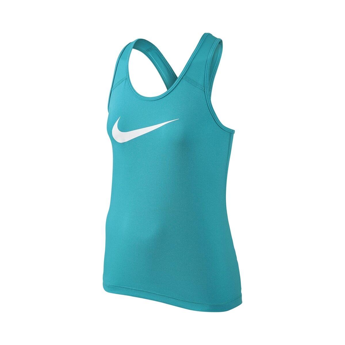 Nike Pro Cool Tank Girl Light Blue 140