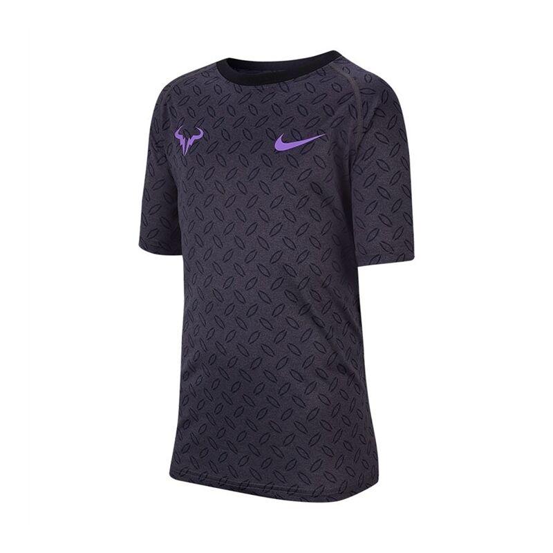 Nike Nike Court Dri-FIT Rafa Tee Boy Anthracite 140