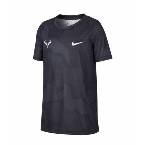 Nike Rafa Dry Tee Boy Black 164