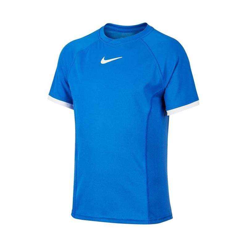 Nike Court Dri-Fit Tee Boy Blue 128