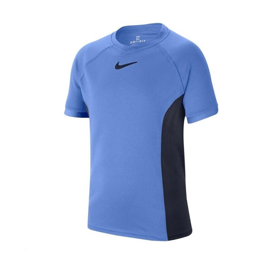 Nike Dry SS Top Boy Blue 140