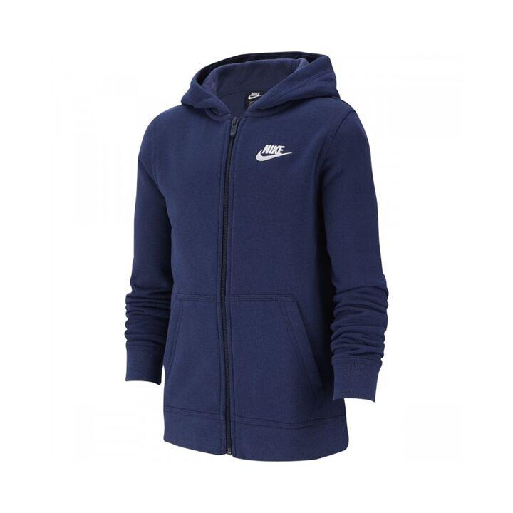 Nike Club Hoodie Boy Navy 164