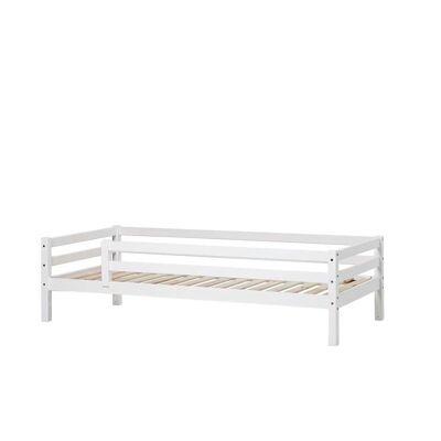 Hoppekids - BASIC Seng med sengehest 90x200 cm - Hvid - Babymøbler - Hoppekids