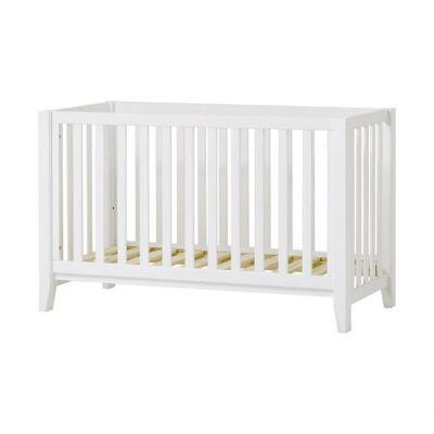 Hoppekids - ANTON Baby Seng - Hvid - Babymøbler - Hoppekids