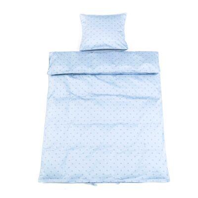 Smallstuff - Baby Sengetøj 70x100 cm - Light Blue Starut - Babymøbler - Smallstuff