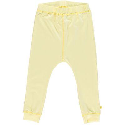 Småfolk - Økologisk Basis Jersey Bukser - Lemonade - Børnetøj - Småfolk