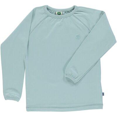 Småfolk - Økologisk Basis Langærmet T-Shirt - Ether - Børnetøj - Småfolk