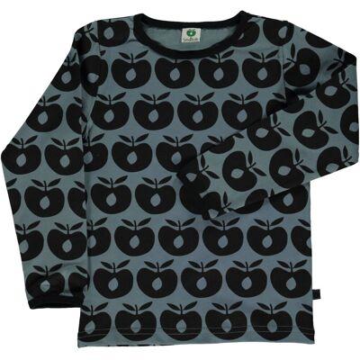 Småfolk - Økologisk Langærmet T-Shirt m. Æble - Børnetøj - Småfolk