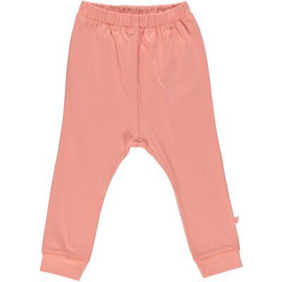 Småfolk -Økologisk Basis Jersey Pants - Lt. Purple - Børnetøj - Småfolk