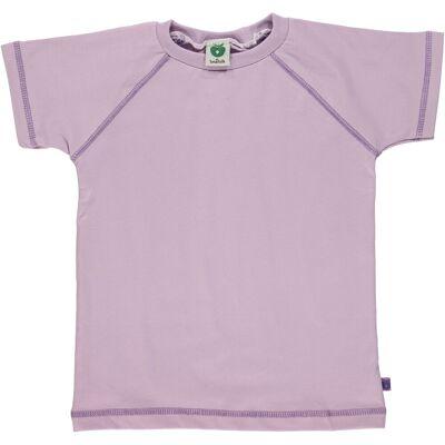 Småfolk - Økologisk Basis T-shirt - Lavendel - Børnetøj - Småfolk