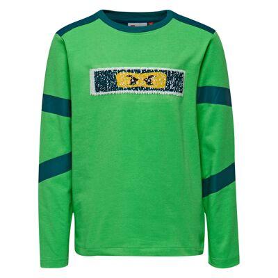Lego Wear - Ninjago Langærmet T-shirt - Tiger 106 - Børnetøj - Lego