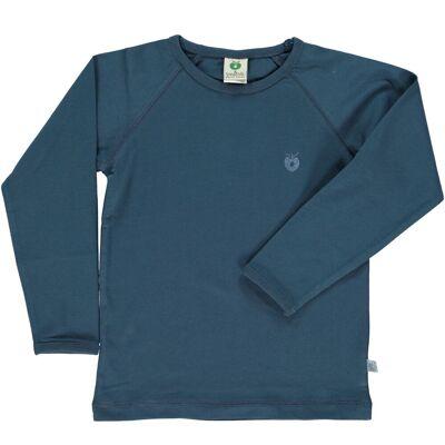 Småfolk - Økologisk Basis Langærmet T-Shirt - Majolica - Børnetøj - Småfolk