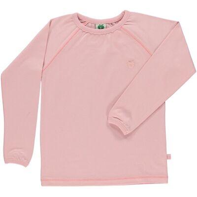 Småfolk - Økologisk Basis Langærmet T-Shirt - Sølv Pink - Børnetøj - Småfolk