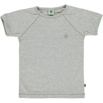Småfolk - Økologisk Basis T-Shirt - Grå Mix - Børnetøj - Småfolk