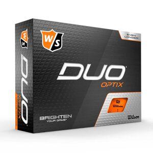 Wilson - Duo OPTIC Orange 12pack Golfbolde