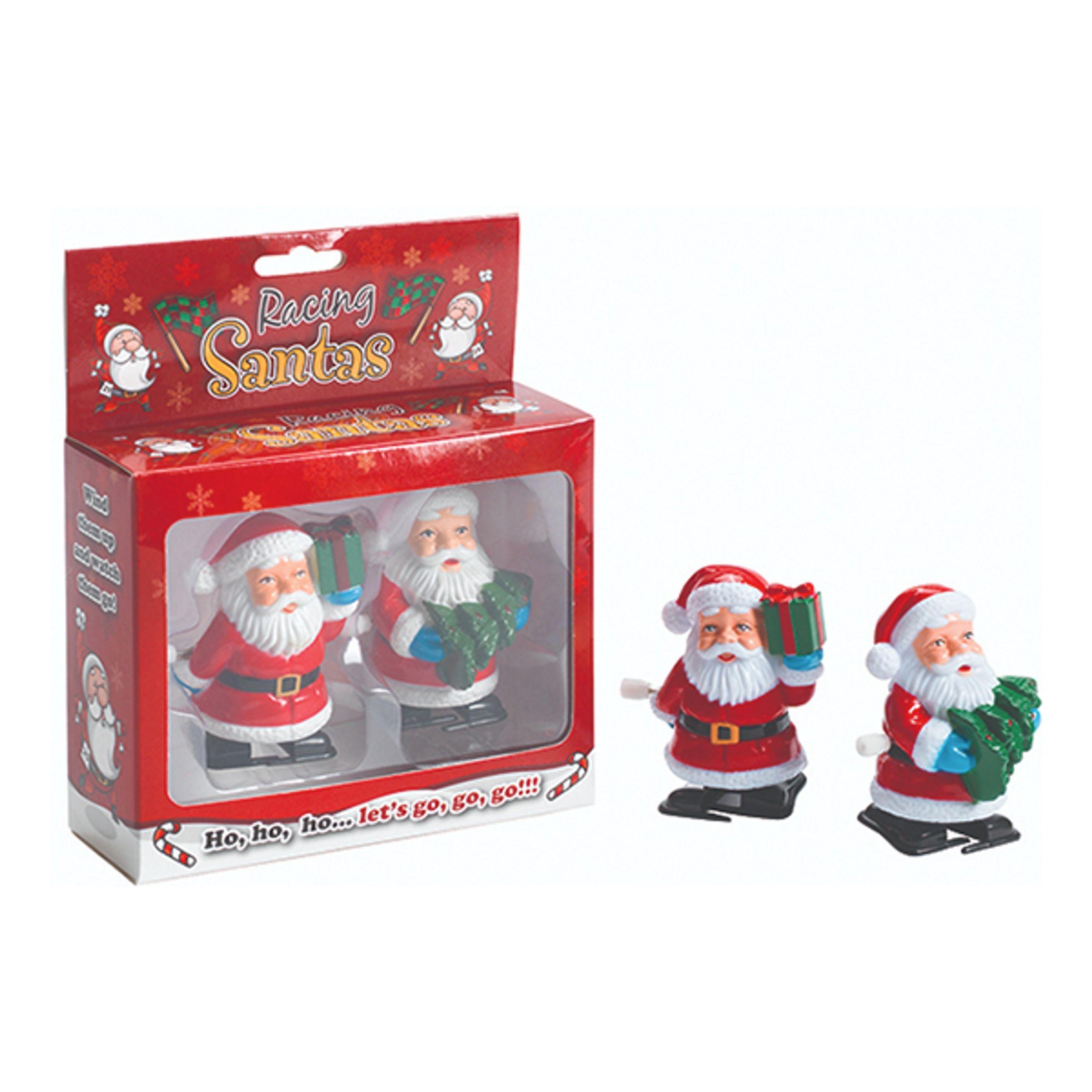 The Diabolical Gift People Racing Santas - 2-pak