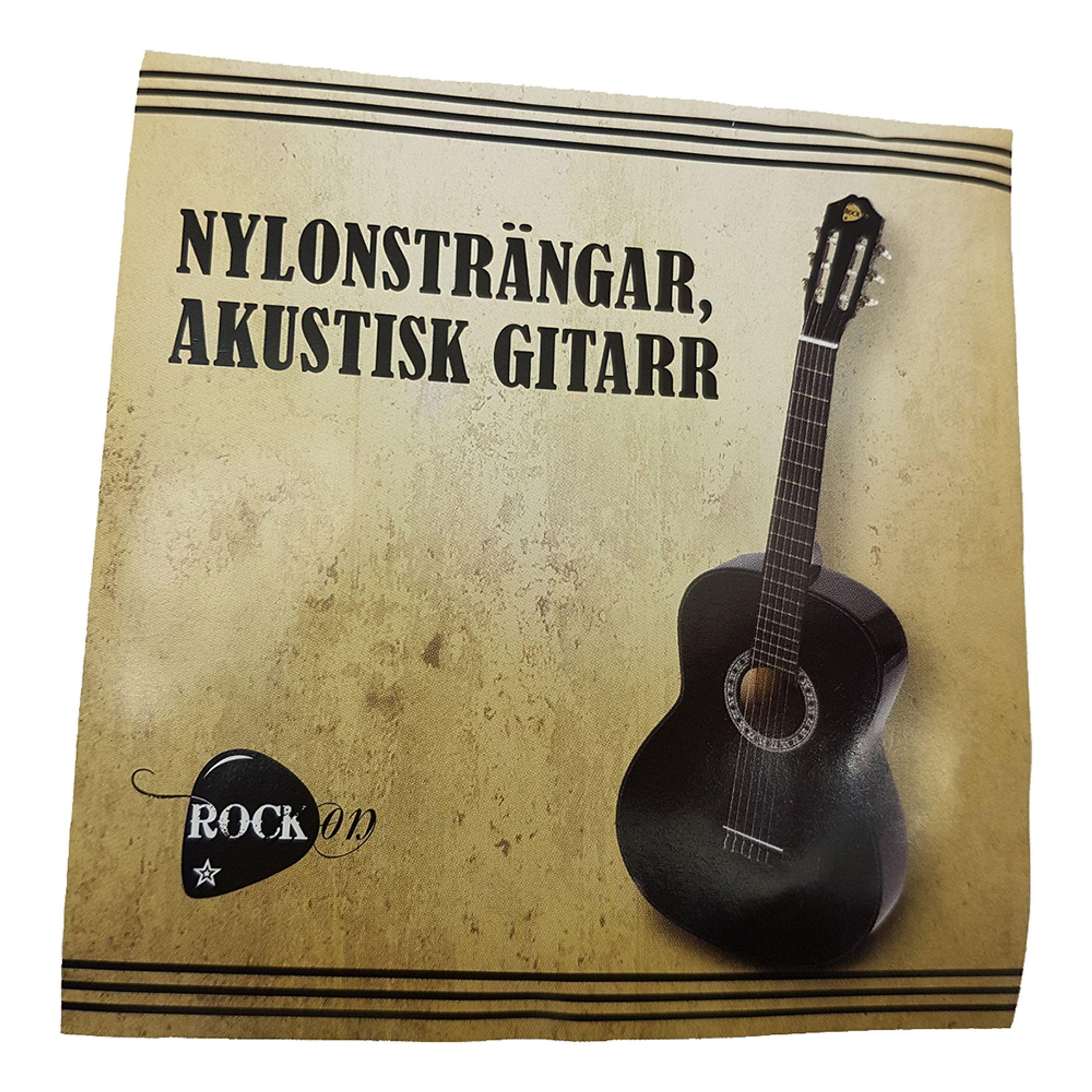 Klippex AB RockOn Guitarstrenge - Nylonstrenge