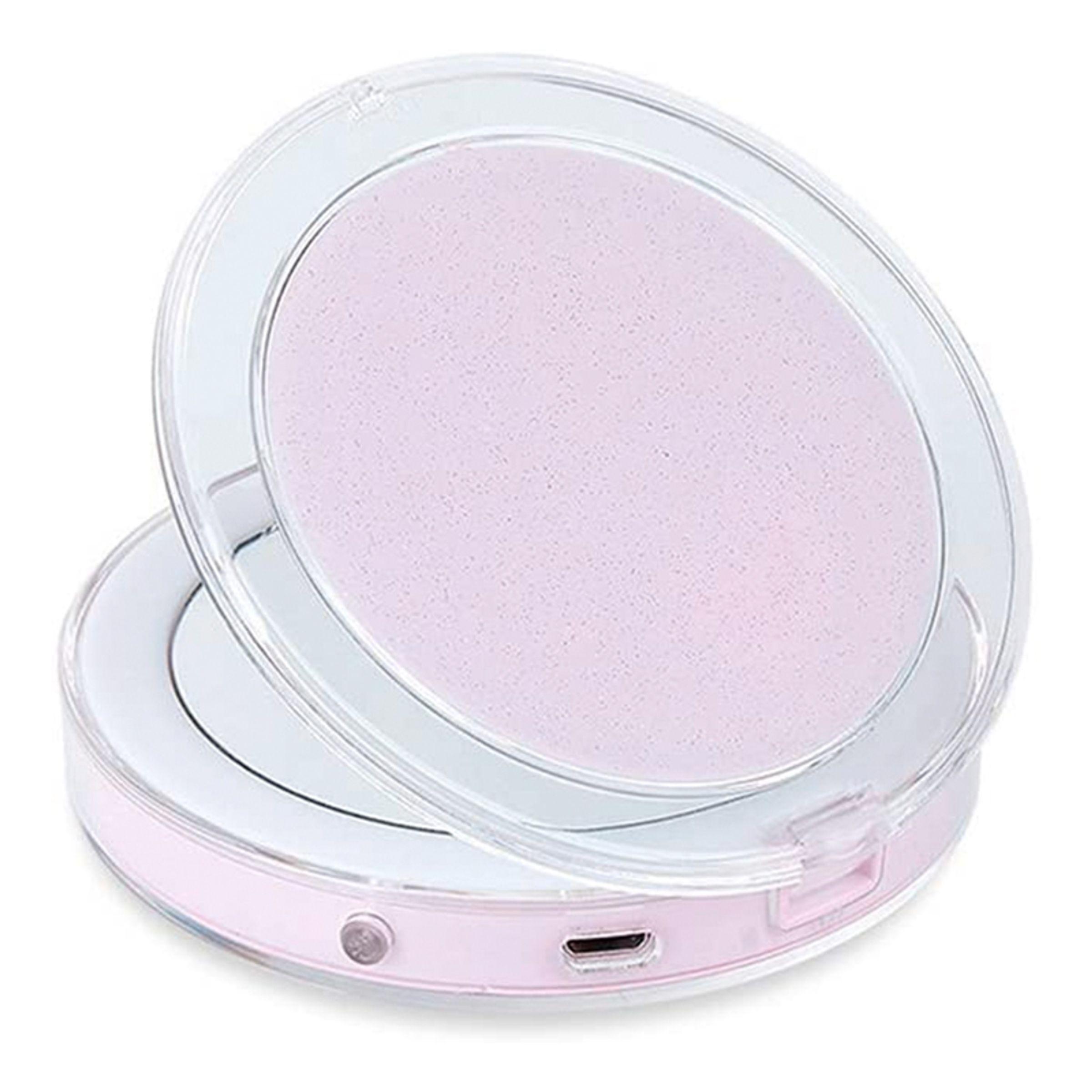Catsson Int Group LTD Sammenklappeligt LED Makeupspejl - Lyserød
