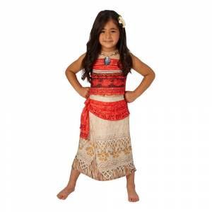Rubies Costumes Co. Vaiana Børnekostume Deluxe - Small
