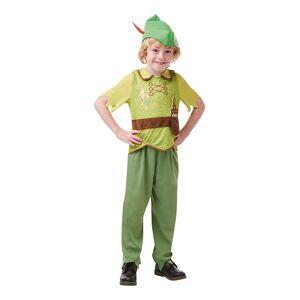 Peter Pan Eventyrbog Børnekostume - Small
