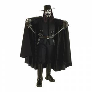 Rubies Costumes Co. V For Vendetta Kostume Deluxe - One size