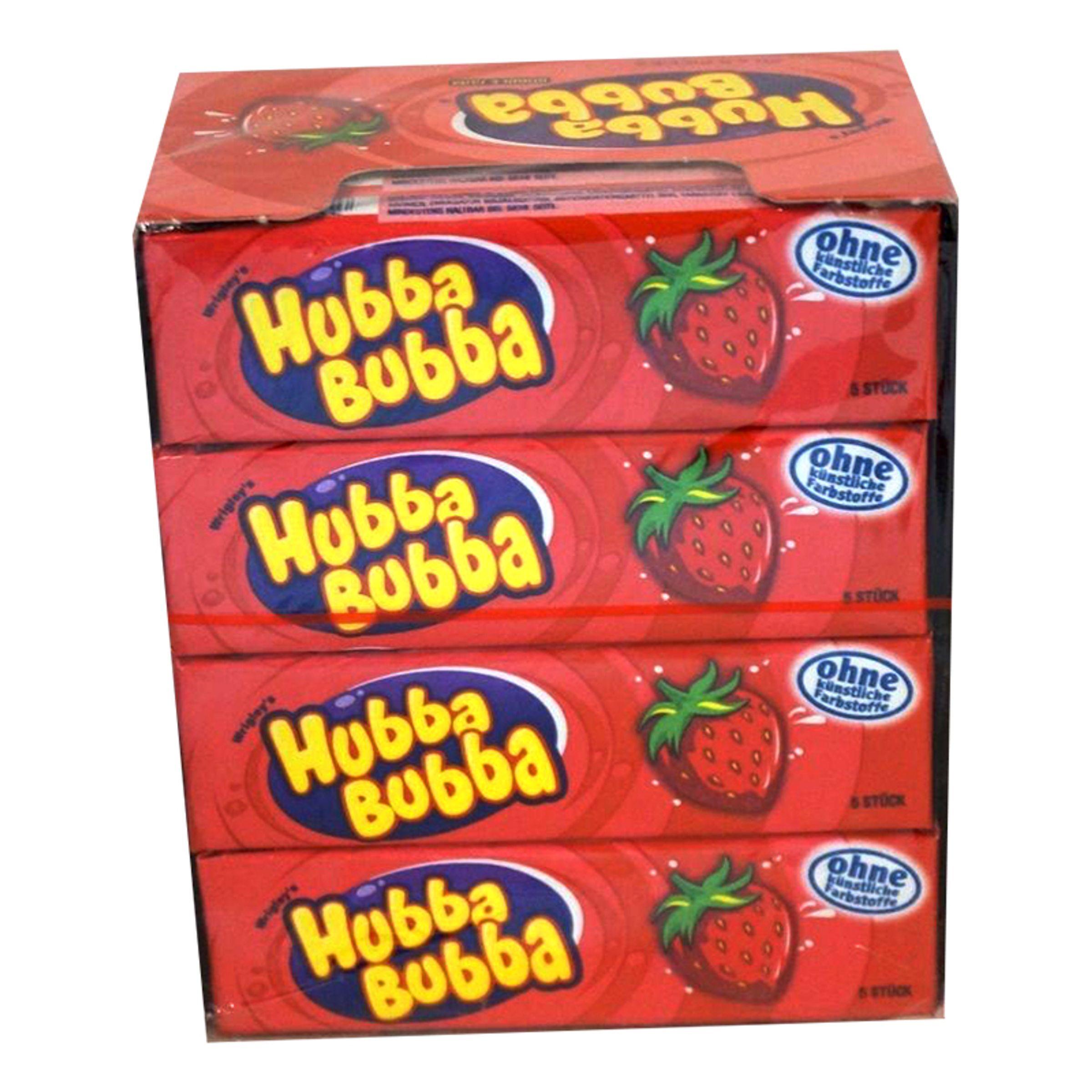 ERT Godis Hubba Hubba Jordbær - 20-pak