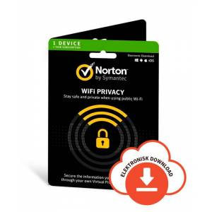 Symantec Norton WiFi Privacy VPN 2019 - 1 enhed