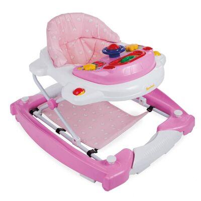 Baninni 2-i-1 gåstol Classic lyserød BNBW002-LPK - Bæreseler og Babyslynge - Baninni