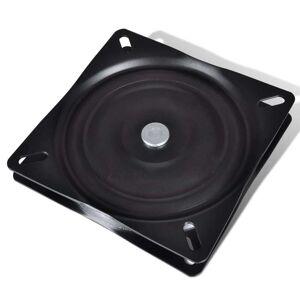 vidaXL Sæde plade standard drejelig 160x160x2,5 mv