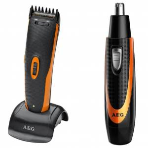 AEG hårtrimmersæt HSM/R 5597 NE sort og orange