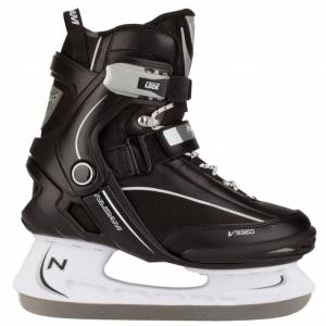 Nijdam Ishockey skøjter Størrelse 46 3350-ZWW-46