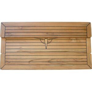 Komfort Foldbar teakbord 68 x 100 cm
