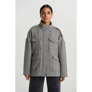 Gina Tricot Lollo jacket S Female Lt grey