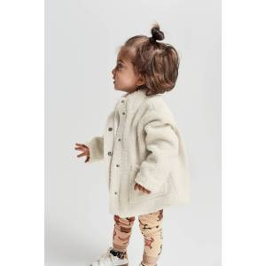Gina Tricot Mini Edina pile jacket Female Beige (1040) 98/104