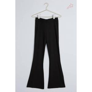 Gina Tricot Petra trousers S Female Black (9000)