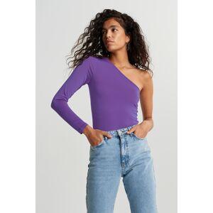 Gina Tricot Josefin top L Female Purple