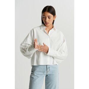Gina Tricot Briella shirt 34 Female Offwhite